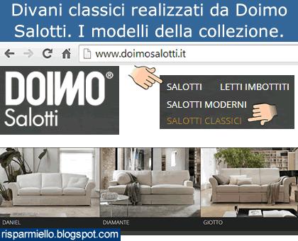 Divani Classici Doimo.Risparmiello Doimo Salotti Divani Classici Listino Prezzi