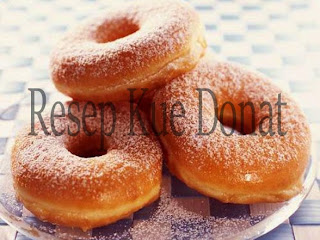 Resep Donat Singkong ENAK