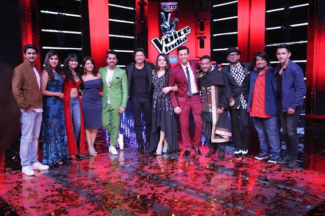The BLOCKBUSTER LIVE round kick starts on The Voice India Season 2