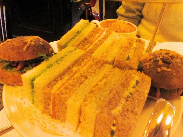 Balthazar Restaurant Matthew Williamson afternoon tea