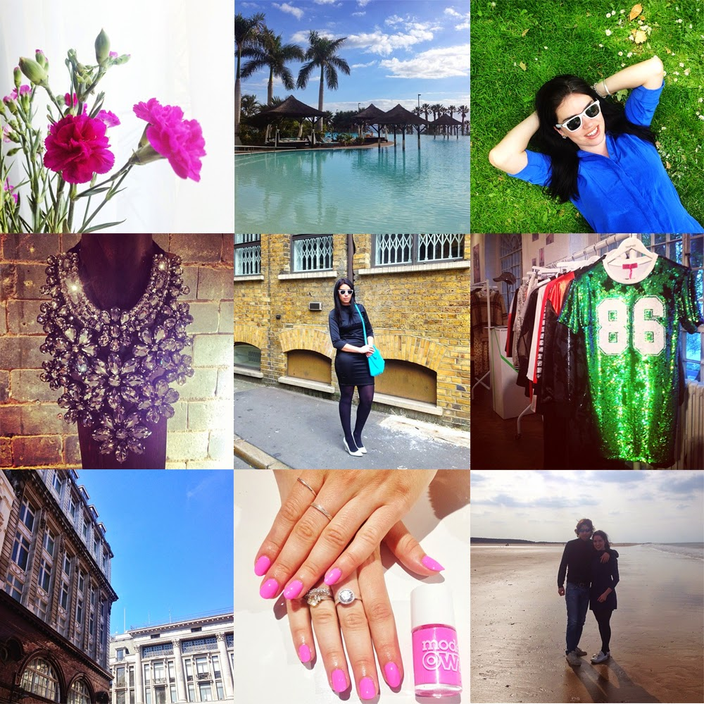 London fashion and lifestyle blogger Emma Louise Layla on Instagram