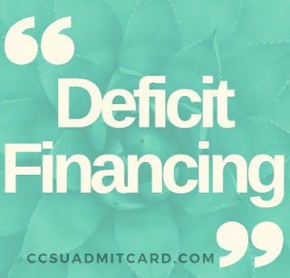 Deficit Financing