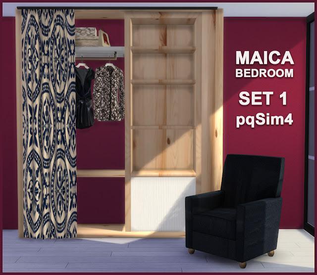 Armario y sillón Maica 10