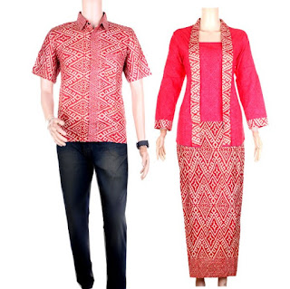 model baju batik couple pesta modis