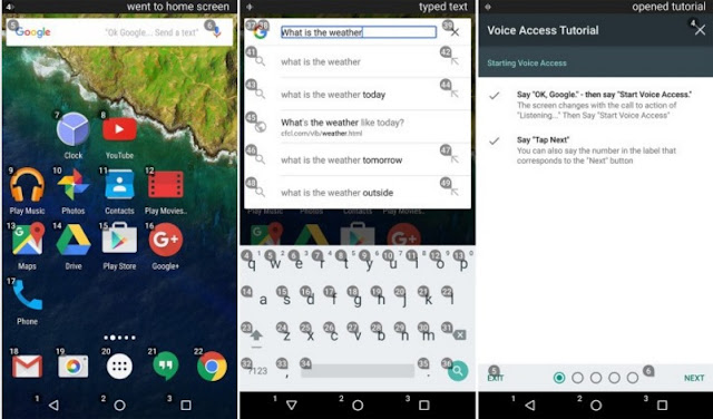 Google Released Voice Access Beta App : Control Your Phone Completely by Voice