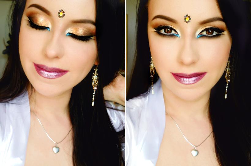 Riki Tiki Kosme Tiki Makeup W Stylu Bollywood