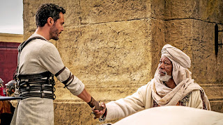 Ben-Hur 2016 remake Jack Huston Morgan Freeman