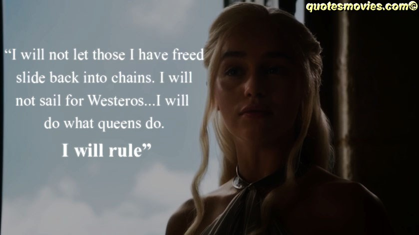 Top Game of Thrones Quotes