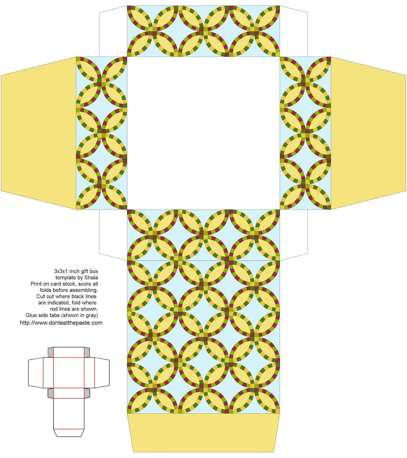 Double Wedding Ring Pattern