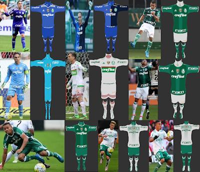 PES 2013 Palmeiras 2016-17 Full GDB