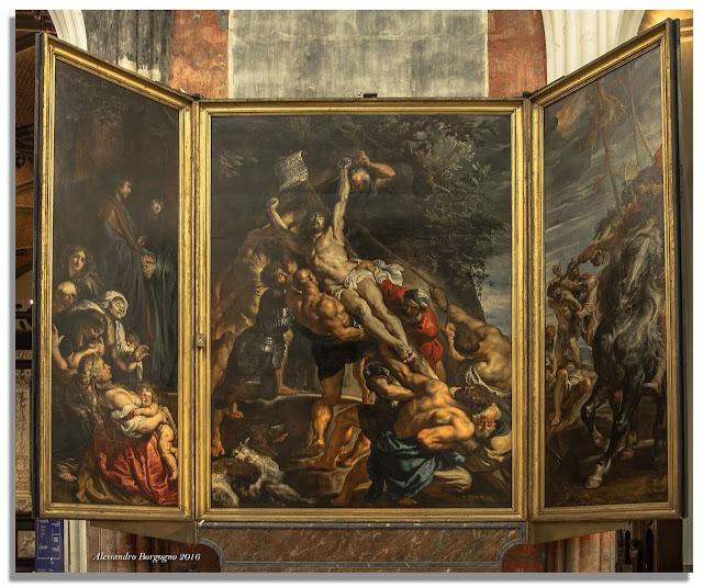 Peter Paul Rubens, L'elevazione della Croce - Cattedrale di Anversa