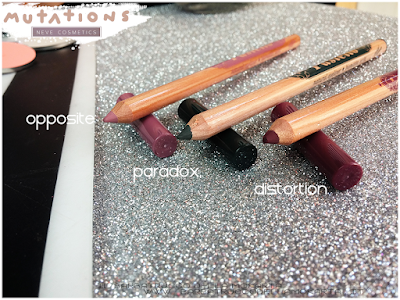 OPPOSITE, PARADOX DISTORTION BioPastello occhi - Collezione Mutations - Neve cosmetics