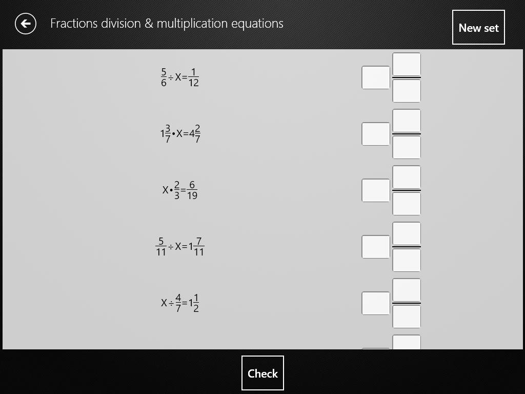 Cross Multiplication Equations Worksheet
