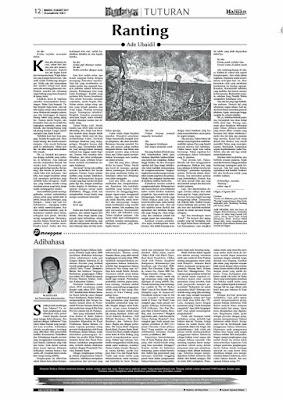 [CERPEN] RANTING (Haluan Padang, 19 Maret 2017)