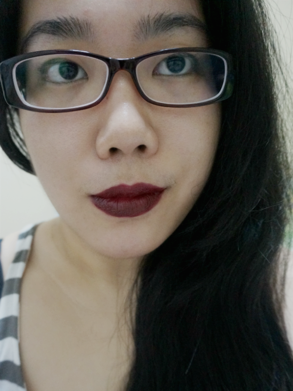 FOTD with Wet n Wild Cherry Bomb