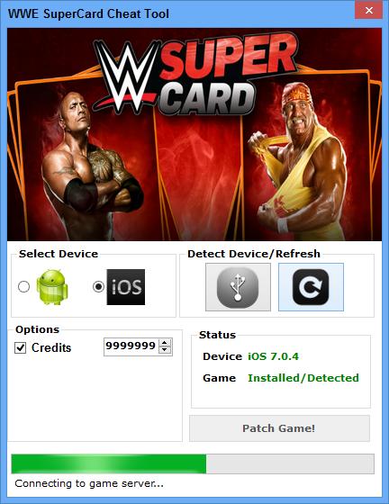 HACK SUPERCARD TÉLÉCHARGER WWE