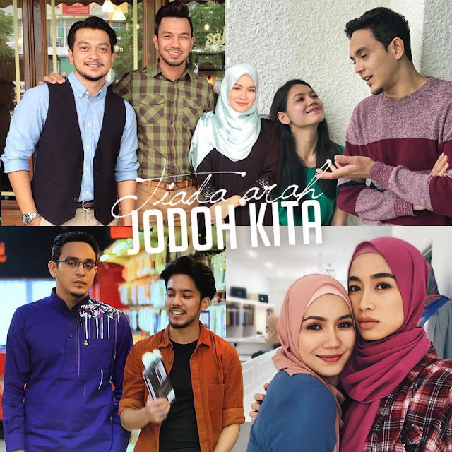 Drama Tiada Arah Jodoh Kita Lakonan Shukri Yahaya, Aprena Manrose, Hafeez Mikail
