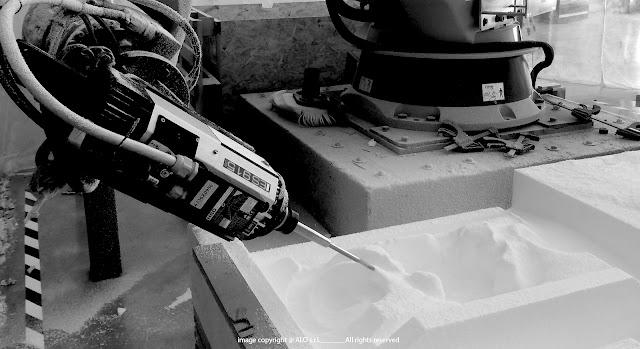 Esempi fresatura robotica a 6 assi for Polistirolo cagliari
