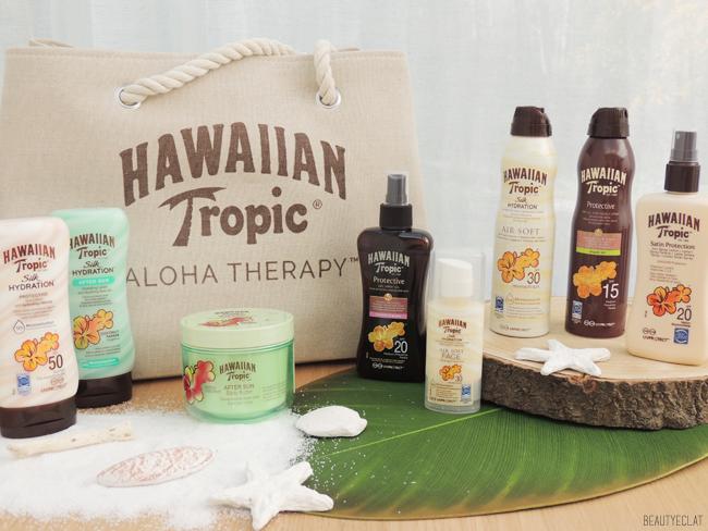 revue avis test hawaiian tropic meilleurs produits solaires protection solaire spf uvb