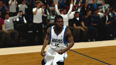 NBA 2K13 Michael Gelabale Cyberface Dreadlocks Hair