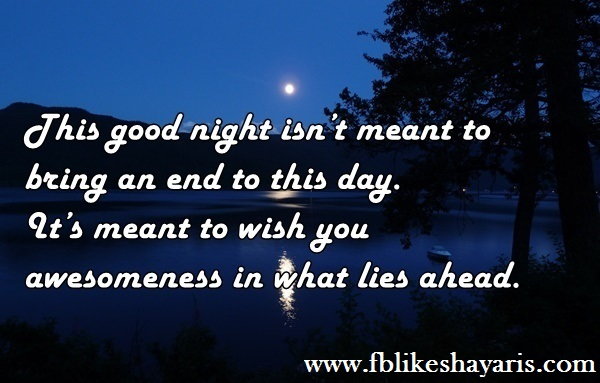 This good night isn't meant to - Good Night Wishes Cards