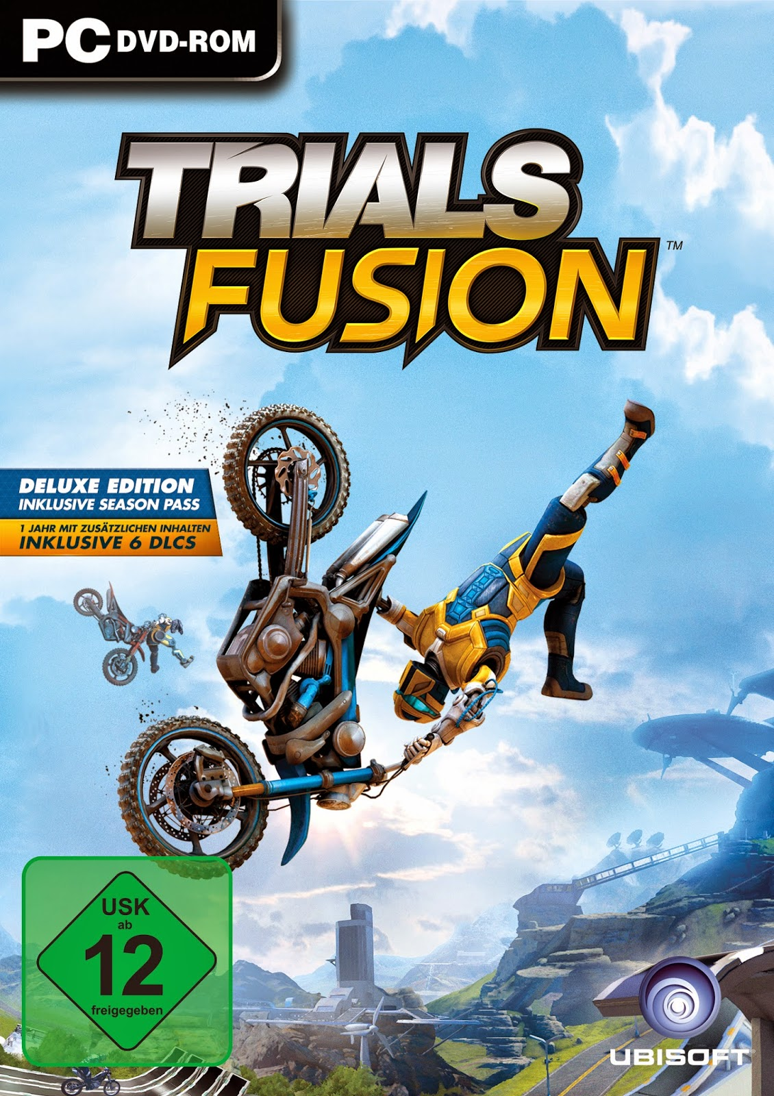 Trials Fusion Fire In The Deep ESPAÑOL PC Full