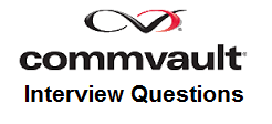 Commvault Interview Questions