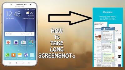 Android Mobile Me Long Screenshot Kaise Le