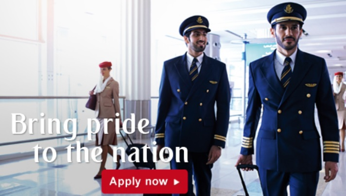 fly gosh emirates airline pilot recruitment cadet pilot 2017