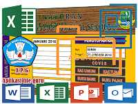 Aplikasi BKU [Buku Kas UMUM] Cetak SPJ laporan BOS Format Excel.Xls