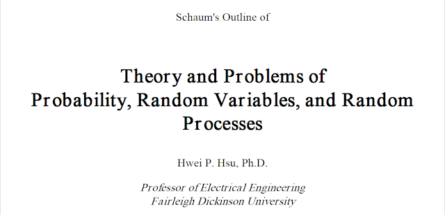 Download Schaums Probability, Random Variables And Random Processes with Manual Solutions PDF