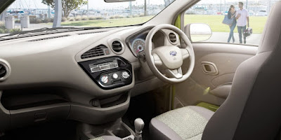 Datsun redi-GO Sport Limited Edition interior