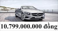 Giá xe Mercedes S500 Cabriolet
