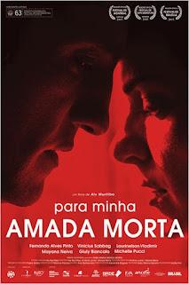 """Poster do filme """"Para MInha Amada Morta"""""""