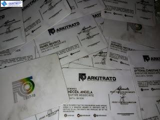 PVC Membership Cards - Arkitrato