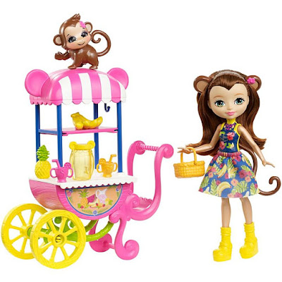 Enchantimals Fruit Cart Doll Set