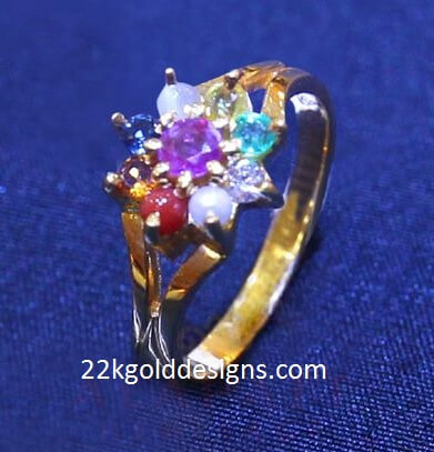 Navaratna Ring design
