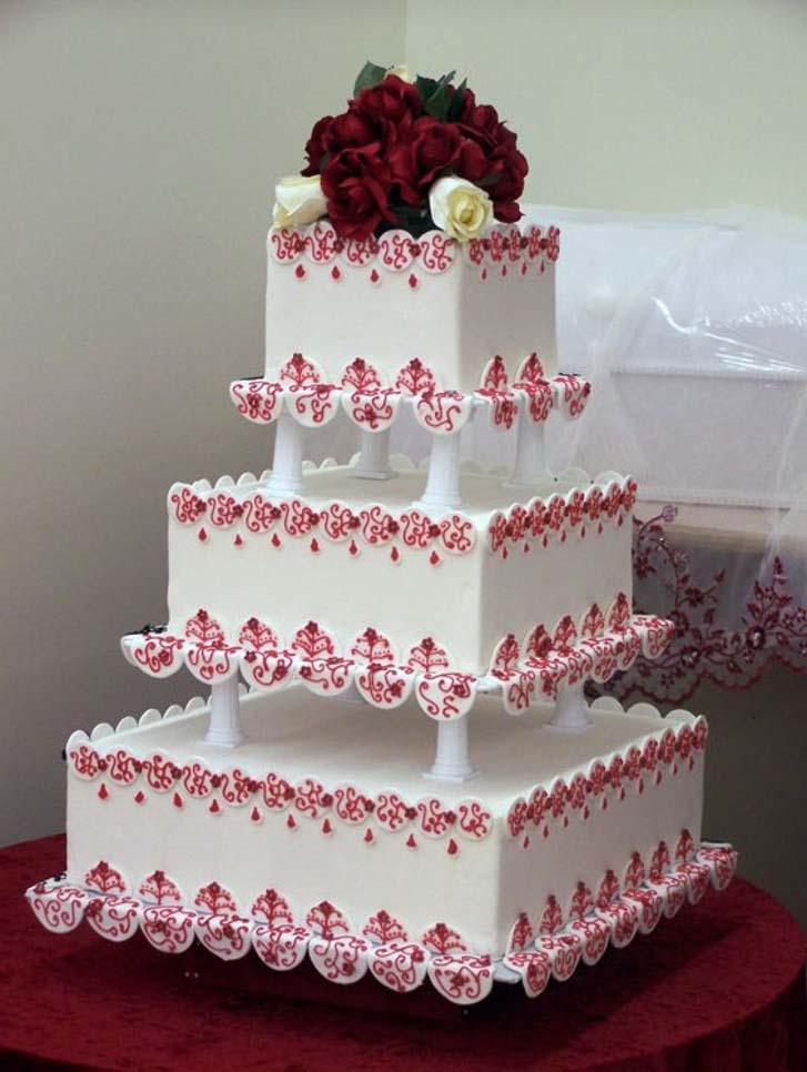Simple Classic Wedding Cakes Design