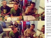 Datang Ke Indonesia, Beredar Foto Rossi Ditilang Polisi, Benarkah? Ternyata ini Yang Terjadi