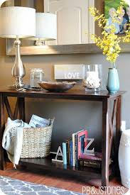 Decorating Console Tables