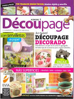 Decoupage Nro. 1 – Nuevo con servilletas de papel