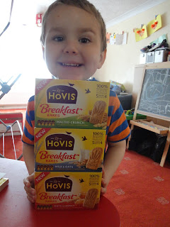 Big Boy and the Hovis Breakfast Bakes