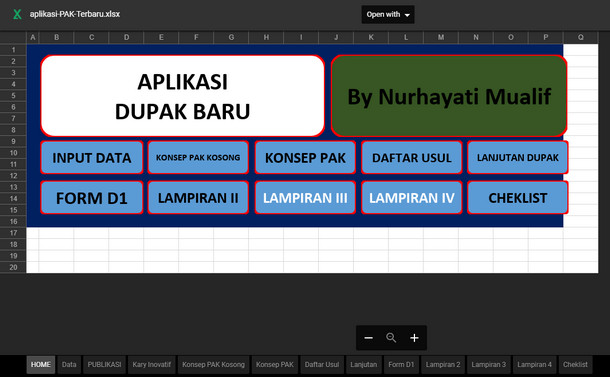 Download Aplikasi PAK (Penilaian Angka Kredit) Terbaru