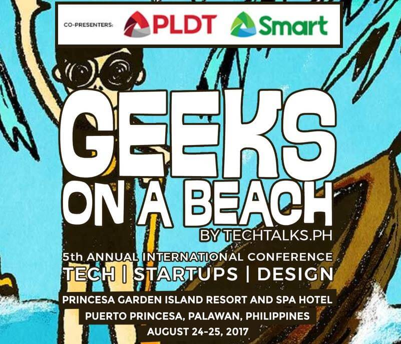 PLDT Group Is Powering Up Geeks On A Beach Conference on August 24 to 25