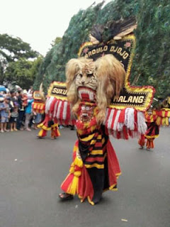 Reog Ponorogo Dalam Kirab Budaya Klenteng Eng An Kiong, Malang 2018