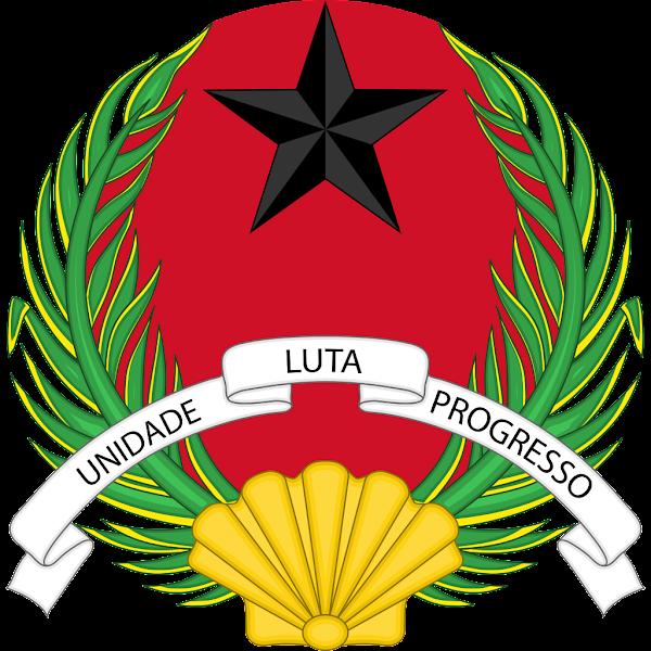 Logo Gambar Lambang Simbol Negara Guinea-Bissau PNG JPG ukuran 600 px