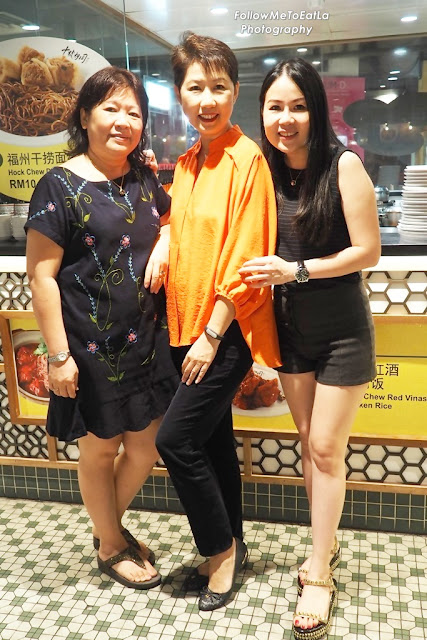 Photo With Co-Founder, Jeassy & Her Mother, Madam Lee