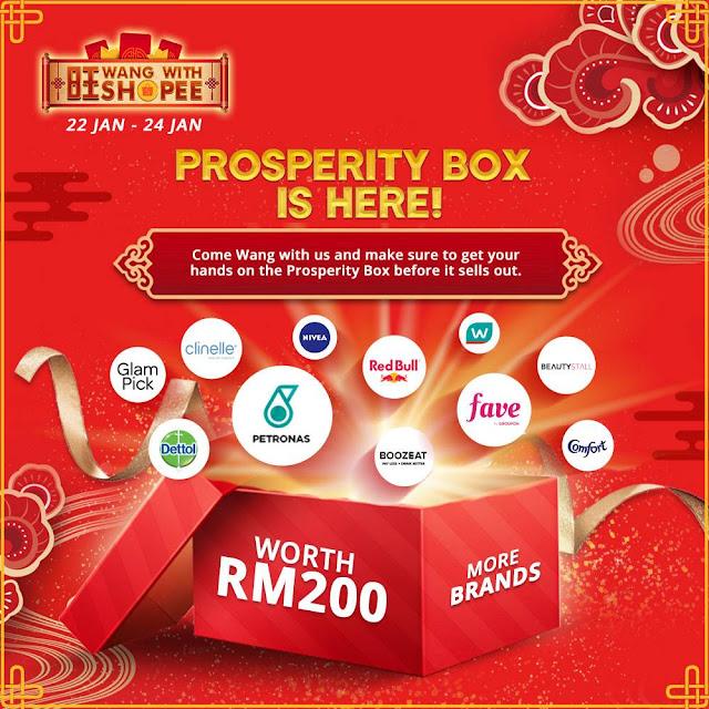 Kempen 'Wang bersama Shopee' Menawarkan 'Fortune Ang Pao' yang Membariskan Pelbagai Hadiah Berjumlah Lebih RM1 Juta Sempena Tahun Baharu Cina