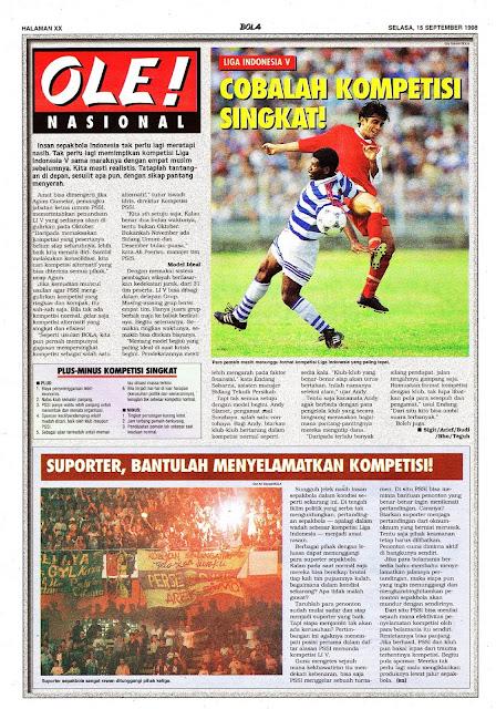 SEPAKBOLA NASIONAL LIGA INDONESIA V
