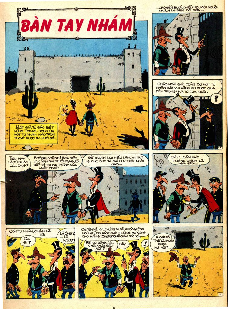 Lucky Luke tap 1 - ban tay nham trang 1
